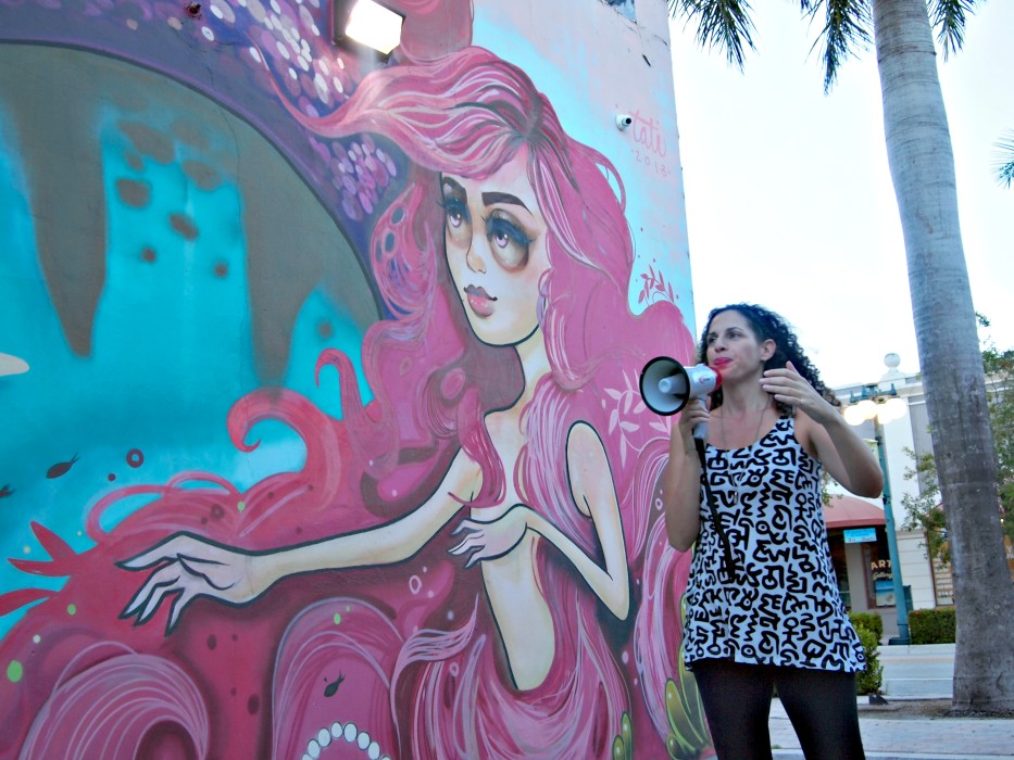 Downtown Hollywood's Technicolor ArtWalk