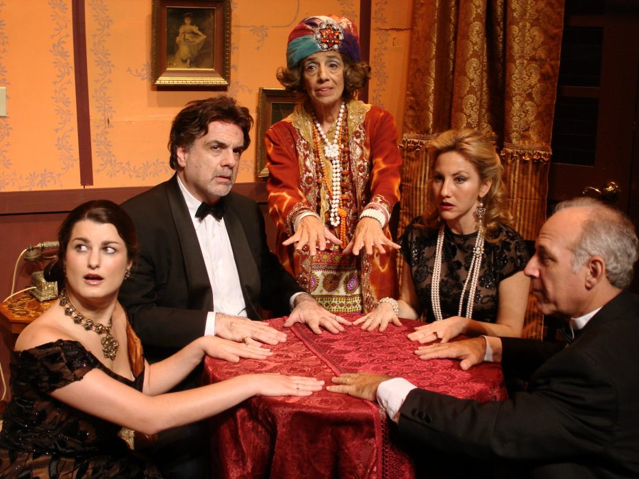 "Photo courtesy, Curtain Call Playhouse, of the play ""Blithe Spirit"" by Noel Coward"