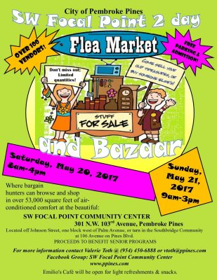 SWFP May Flea Market and Bazaar
