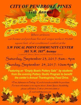 Fall Arts & Crafts Show