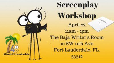 48 Hour Film Project Screenplay Workshop