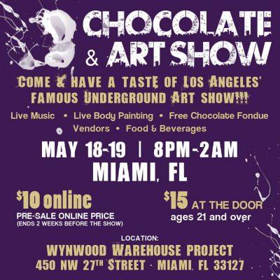 Chocolate and Art - Miami Edition 2017