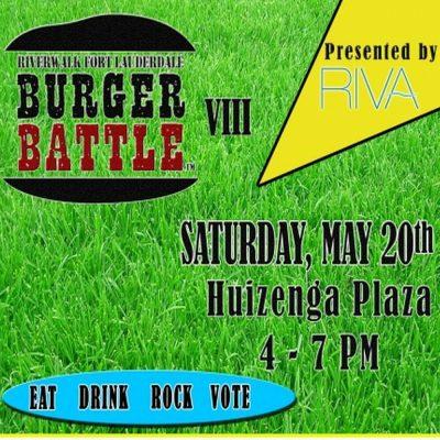 Riverwalk Fort Lauderdale Burger Battle™ VIII