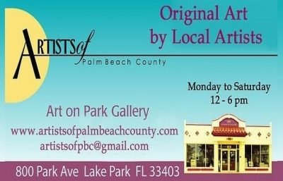 """Art On Park Gallery Announces Call For 2D and 3D work For """"Absolutely Abstract 2017"""""""