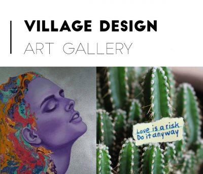 Village Design Art Exhibition