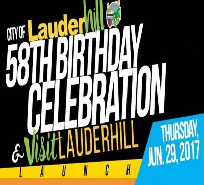 Lauderhill's 58th Birthday Bash & Visit Lauderhill Launch Party