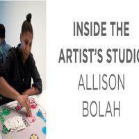 Inside the Artist's Studio: Marielle Plaisir