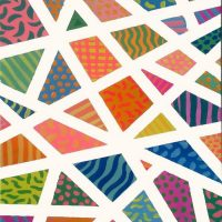 """BYOB Painting Party - """"Abstract Angled Patterns"""""""