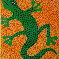 "BYOB Painting Party - ""Green Lizard"""