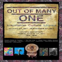 """Out of Many, One  """"A Celebration of Cultural Heritage through Abstract Art"""""""