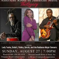 American Roots of Jamaican Music: The Legacy featuring Eugene Grey