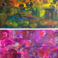 BYOB Painting Party - Abstract Gestures (choose your own colors)