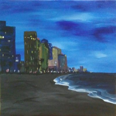 "BYOB Painting Party - ""Fort Lauderdale Beach Hotel..."
