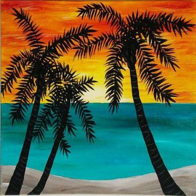 "BYOB Painting Party - ""Ocean Sunrise"""
