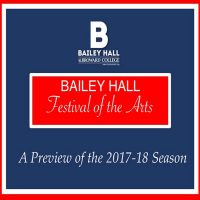 Bailey Hall Festival - A Preview of the 2017-2018 ...