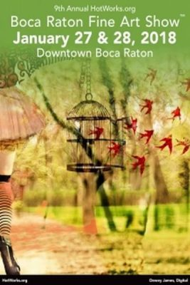 HotWorks.org Calls For 2D and 3D Art For 9th Annual Boca Raton Fine Art Show™