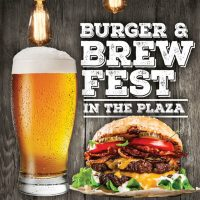 Burger & Brew Fest in the Plaza