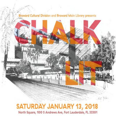 Chalk-Lit Festival 2018​--Call to Artists