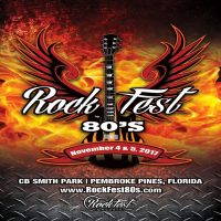 Rock Legends set to electrify the stage at the Second Annual ROCKFEST 80's