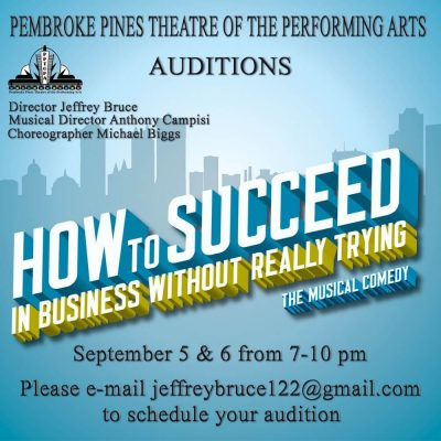 How to Succeed in Business - Auditions