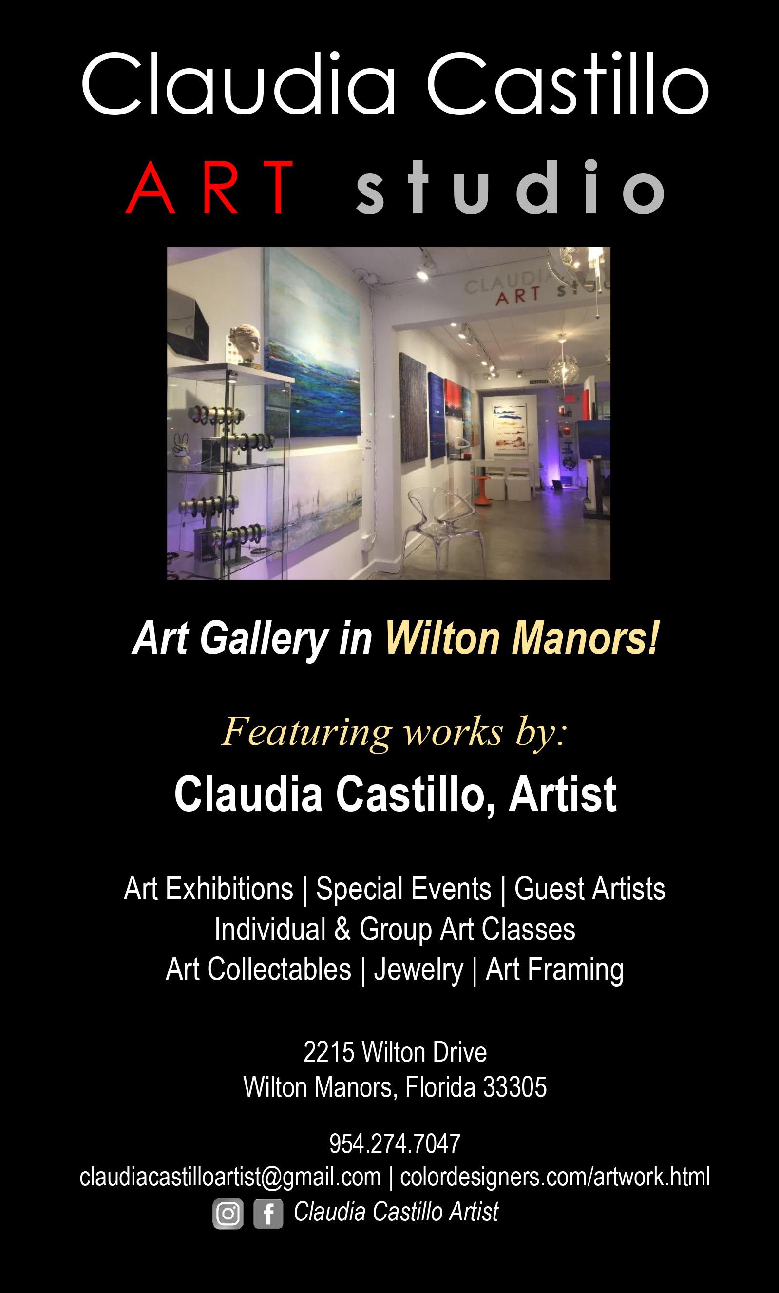 . TRANSFORMATION Presented by Claudia Castillo ART studio presented by