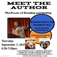 Meet The Author: King Kevin Dorival Power of Reading and Writing