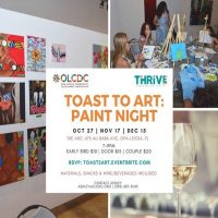 Toast to Art: Paint Night at The ARC