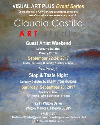 NEW DATE - VISUAL ART PLUS Event Series