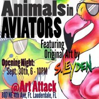 Animals In Aviators