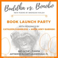 Great Apes and Great Poems: 'Buddha vs. Bonobo' Book Launch Party