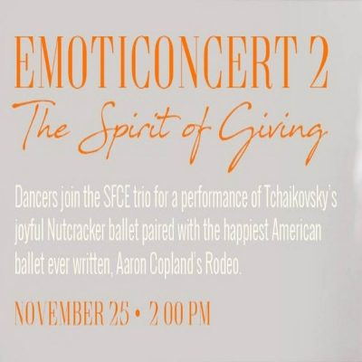 Emoticoncert 2: the Spirit of Giving