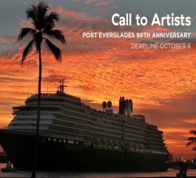 Call to Artists - Help Port Everglades celebrate their 90th anniversary!