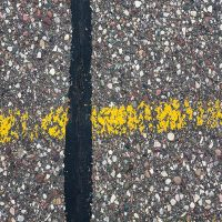 Abstraction of Street by Jeff Larson