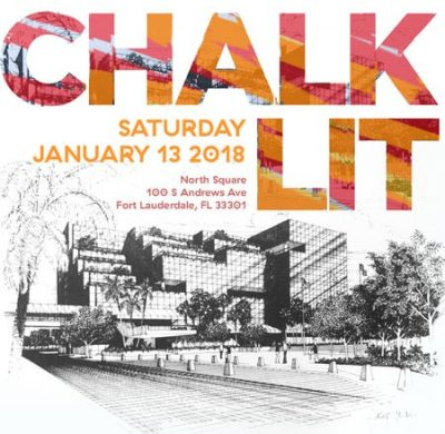Chalk Lit Festival | Broward Main Library and Broward Cultural Division