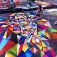 Hollywood Interactive Sidewalk Art Call to Artists