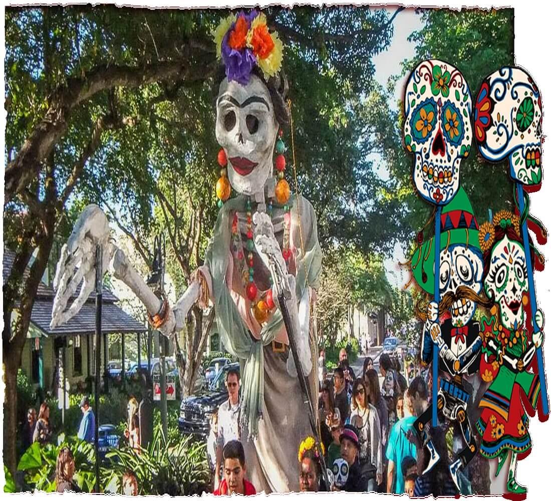 Art Calendar Florida : Florida day of the dead artscalendar