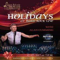 Holidays at the Hard Rock with Alan Cumming