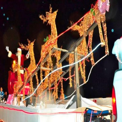 62nd annual Hollywood Beach Candy Cane Parade