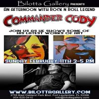 Commander Cody Art Reception