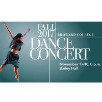 Broward College Fall Dance Concert A Visual and Performing Arts Event
