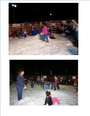 Davie Winter Holiday Snow Play