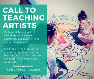 Call for Teaching Artists | The Frank