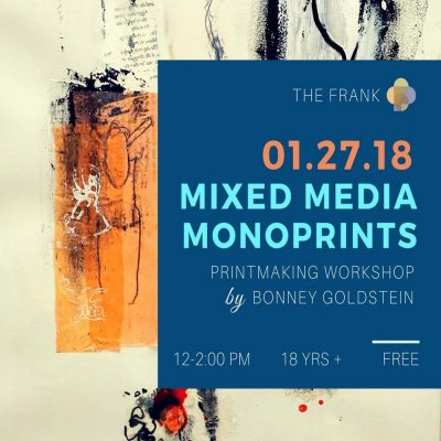 Free@The Frank! Art Workshop