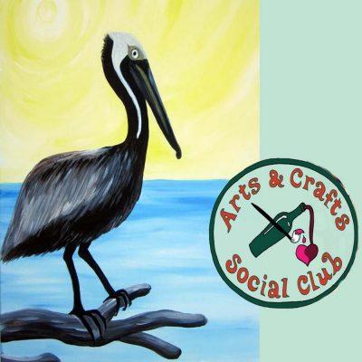 "BYOB Painting Class - ""Pelican"""