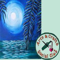 "BYOB Painting Party - ""Moonlit Ocean"" (FULL MOON T..."