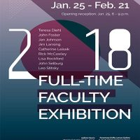2018 Full-time Faculty Exhibition