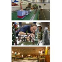 Interactive Holiday Model Train Exhibit