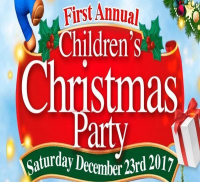 First Annual Children's Christmas Party