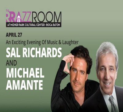 An Exciting Evening of Music & Laughter starring Sal Richards and Michael Amante