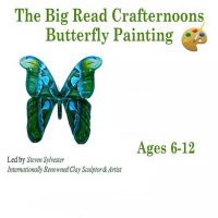 Big Read Crafternoons-Butterfly Painting Craft, For Ages 6-12
